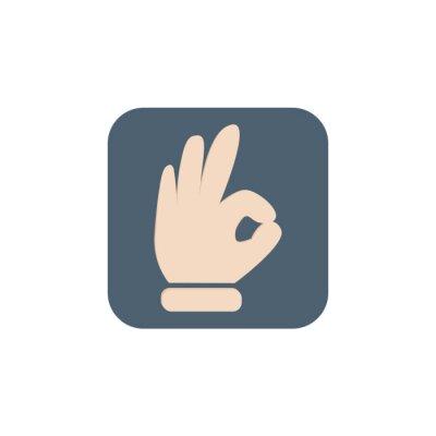 Bon signe de la main