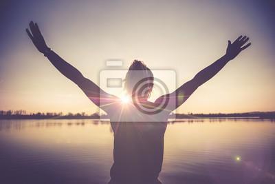 Sticker Bonheur et joie de la vie