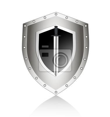 bord avec nous jetons un symbole de sécurité