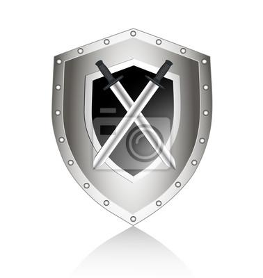 bord avec nous lancer un symbole de sécurité