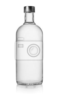 Bouteille de vodka isolé