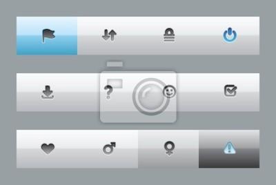 boutons de l'interface pour les signes