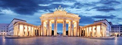 Sticker Brandenburg Gate, Berlin, Germany - panorama