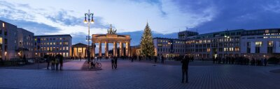 Sticker Brandenburger Tor panorama