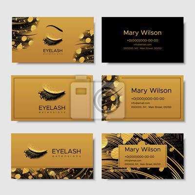 Sticker Branding Pour Lextension De Cils Salon Produits Cosmetiques Lashmaker