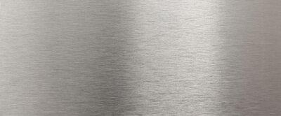 Sticker Brillant texture en acier inoxydable