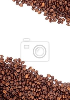 Brown grains de café torréfiés