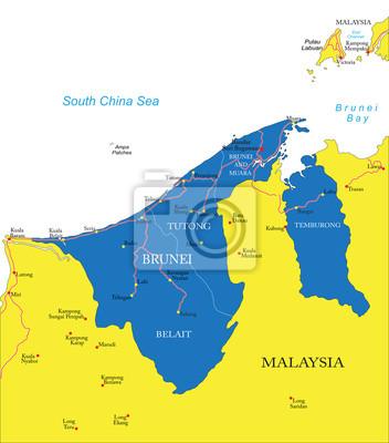 Brunei carte