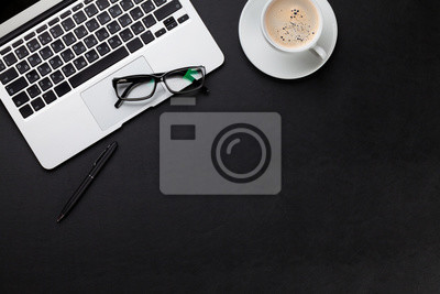 Bureau bureau ordinateur portable café tasse stickers pc