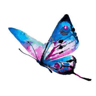 Sticker butterflies design