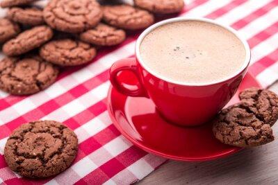 Sticker Café et biscuits