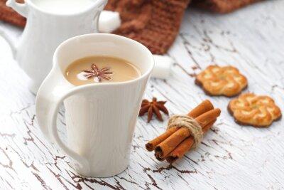 Sticker Café latte et chocolat cookies