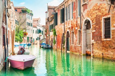 Sticker Canal à Venise, Italie.