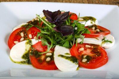 Sticker Caprese Salad