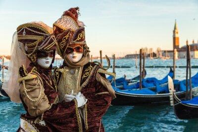 Sticker Carnevale Venezia