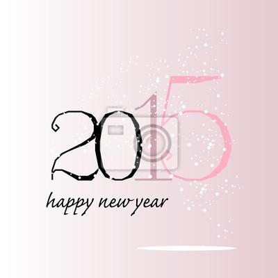 carte de voeux 2015 de rose