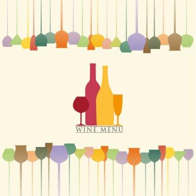 Sticker Carte des vins