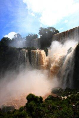 Sticker Cascade / Chutes d'Iguazu en Argentine