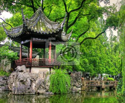 """Célèbre repère """"Yu Yuan Gardens"""" à Shanghai"""