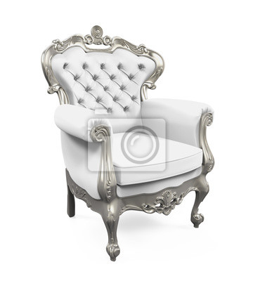Sticker Chaise Du Roi Trne