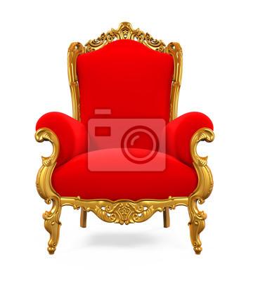 Sticker Chaise Du Roi Trone