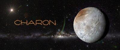 Sticker Charon dans l'espace.