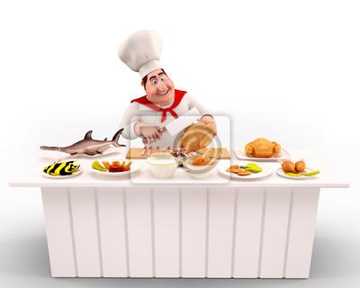 Chef de cuisine nonveg