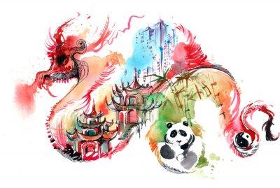Sticker Chine