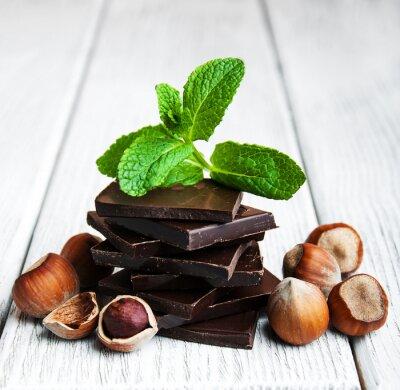 Sticker Chocolat aux noix