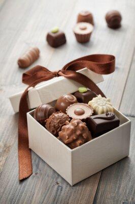 Sticker chocolats