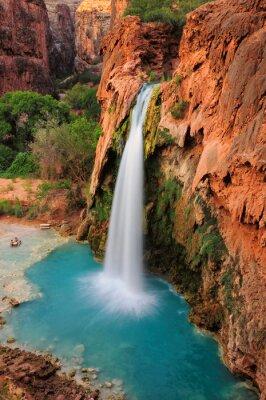 Sticker Chute d'eau dans le Grand Canyon, Arizona, Etats-Unis