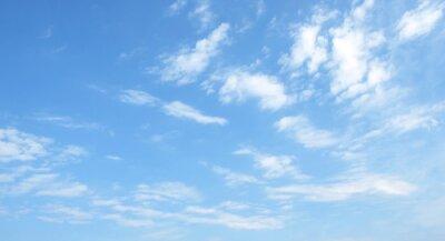 Sticker ciel bleu
