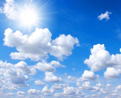 ciel et le soleil