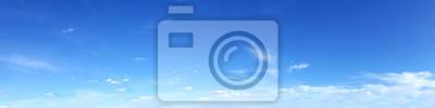 Sticker Ciel panoramique sur une journée ensoleillée.