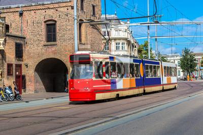 City tram à La Haye