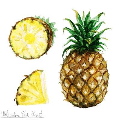 Sticker Clipart de Image - ananas