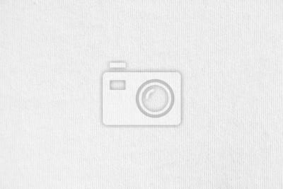 Sticker Closeup white cotton fabric texture background.