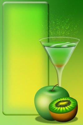 Sticker Cocktail Menu-Aperitivo Menu-Apéritif Menu 4
