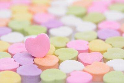 Sticker Coeur rose Cndy