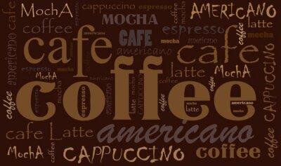Sticker Coffee background