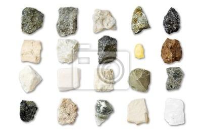 Collection de minéraux