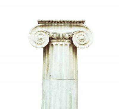 Sticker Colonne antique dans le style dorique