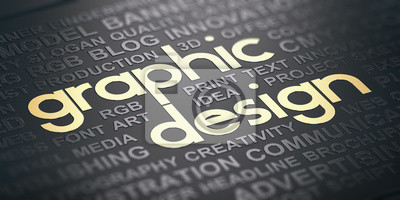 Sticker Communication visuelle Contexte de la conception graphique