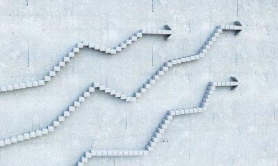 Sticker Concept croissance et progrès