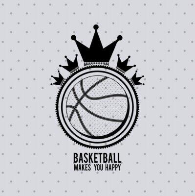 Sticker Conception de la ligue de basket-ball
