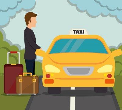 Sticker Conception de services de transport
