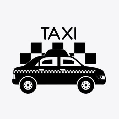 Sticker conception de Taxi.