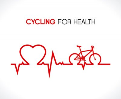 Sticker conception de vélo
