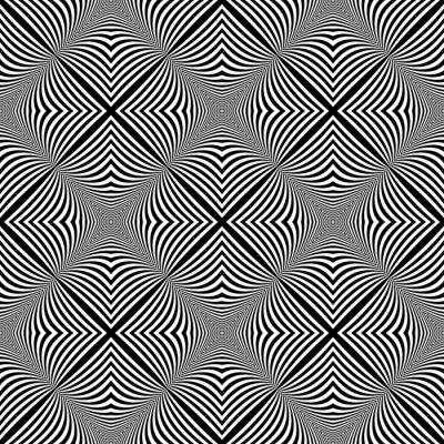 Sticker Conception monochrome transparente illusion fond