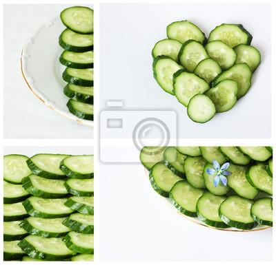 concombre, régime végétarien